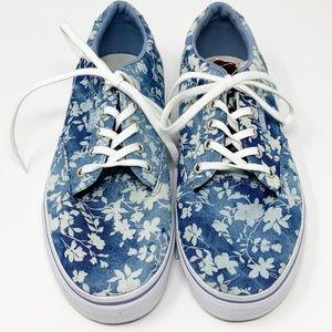 Vans Women's Floral Shoes Size 9